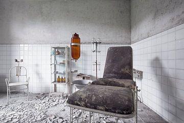 salle d'allaitement abandonnée sur