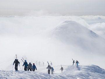 Ski Vulkan Annapuri Japan von Menno Boermans