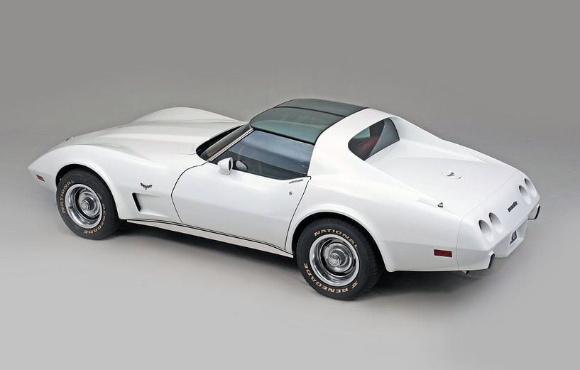 Chevrolet Corvette C3 1977 van Willem van Holten