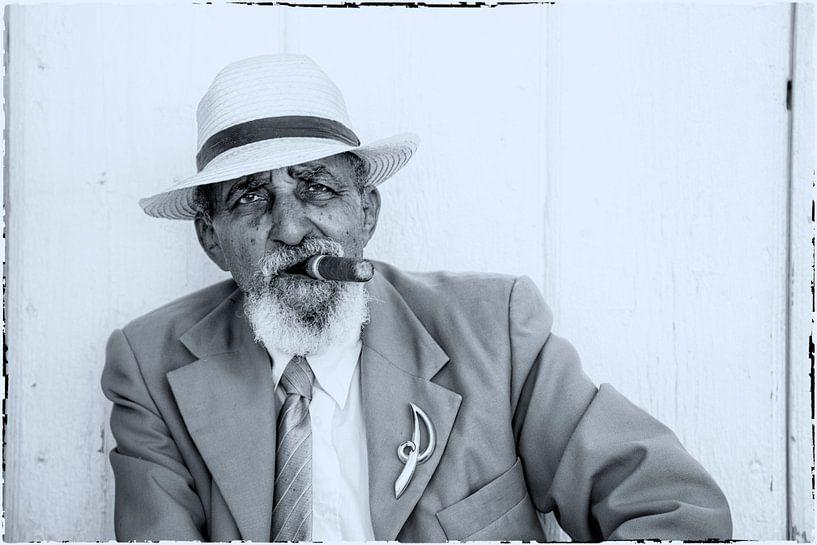 Kubaner mit Zigarre von Tilo Grellmann | Photography