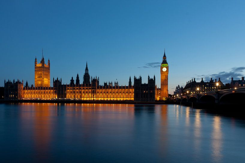 Houses of Parliament van Teuni's Dreams of Reality