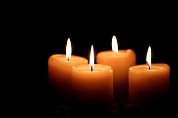 Kerzenschein van Heike Hultsch