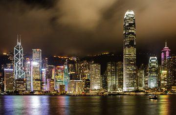 Abend in Hongkong von Patrick Verheij