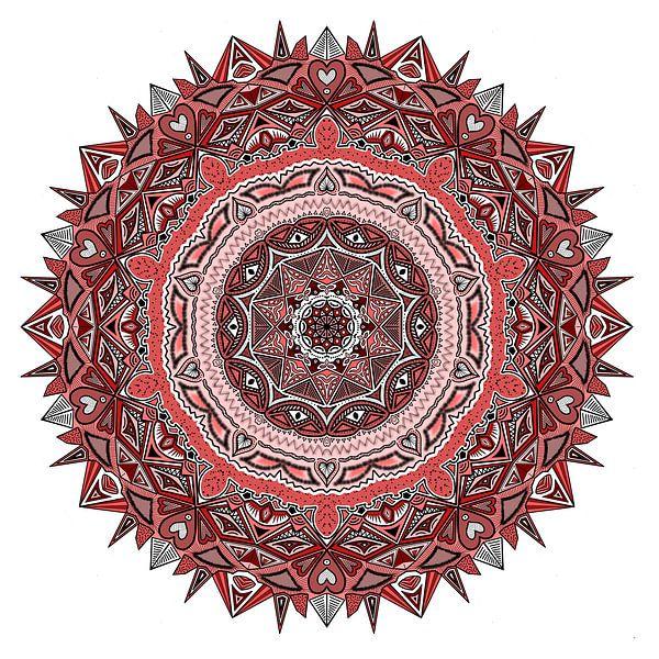 Mandala in Rottönen von Andie Daleboudt