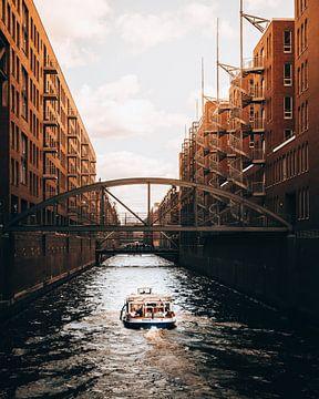 Le port de Hambourg sur Marion Stoffels
