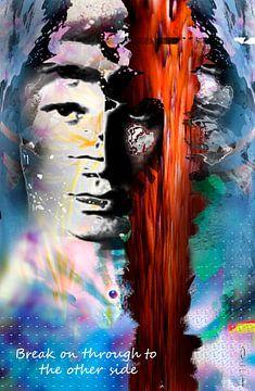 Jim Morrison sur Dray van Beeck