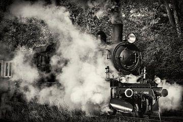 Stoom locomotief 1040 van de ZLSM von Rob Boon