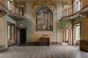 Hall mit Klavier