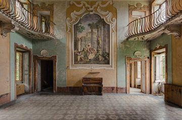 Hall mit Klavier von Perry Wiertz