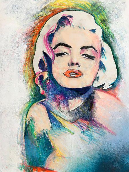 Marilyn Monroe von Thom Bouman