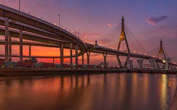 Bangkok Bhumibol brug van Peter Korevaar