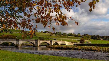 Burnsall Bridge, Yorkshire Dales, Engeland van Adelheid Smitt