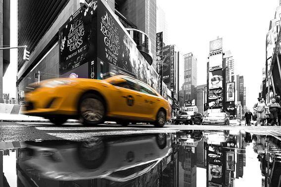 New York  Taxi van Kurt Krause