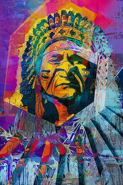 Indien d'Amérique / Amérindien sur Maureen Kroep