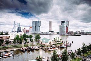 Rotterdam vanuit de Veerhaven