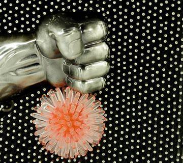 symbool afbeelding, bestrijden corona virus van Time_Pictures