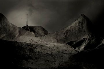 Surrealistische Landschaft von Marijke van Loon