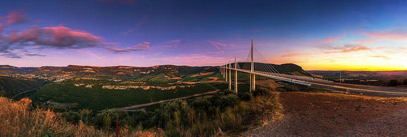 Viaduc de Millau- Panorama sur Frank Herrmann