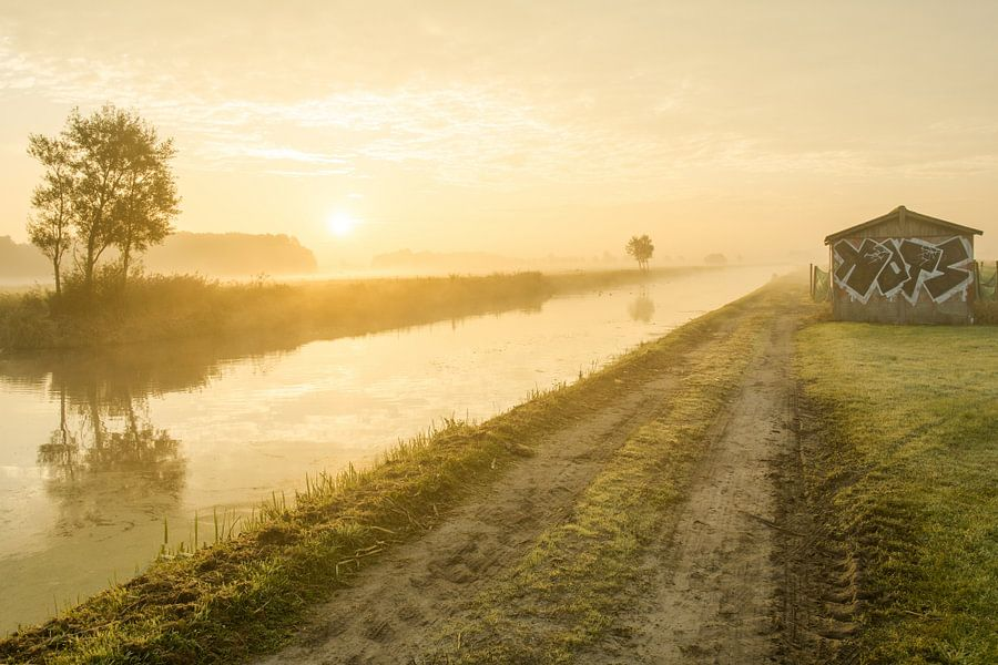 Leeweg in Noordwijk van Dirk van Egmond