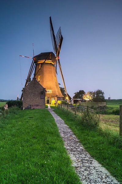 Kleine Mühle von Jan Koppelaar