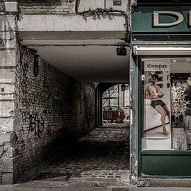 Alleymodel van Ruud Peters