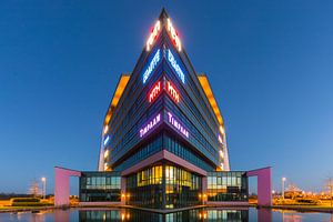 Modern architecture in Assen, the Netherlands