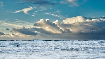 Sturm über der Nordsee von eric van der eijk