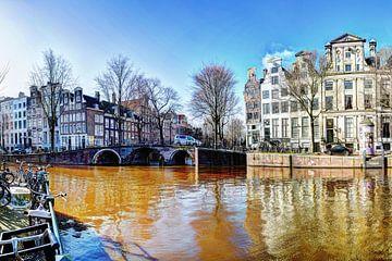 Keizersgracht Amsterdam Winter von Hendrik-Jan Kornelis