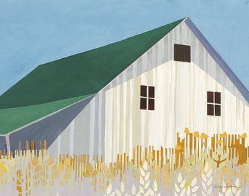 Tarwevelden Groen gewas, Avery Tillmon van Wild Apple