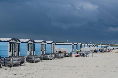 Strandhuisjes Hoek van Holland van