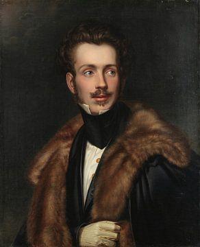 Retrato de Dom Augusto, Duque de Leuchtenberg, George Dury
