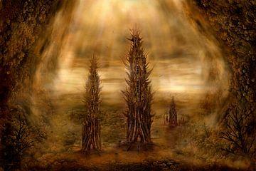 Die untergrund Fantasy Welt von Stefan teddynash