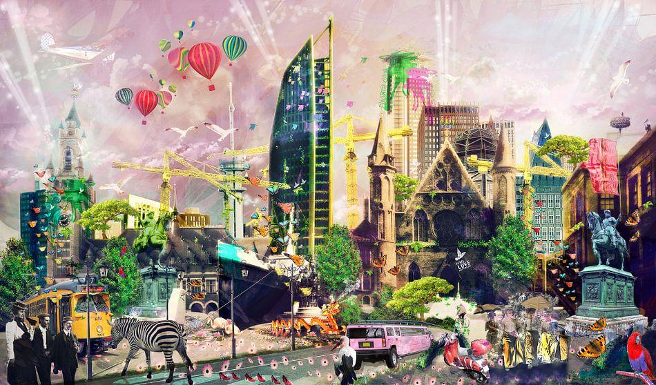 Colors of The Hague van Gabriel Schouten de Jel