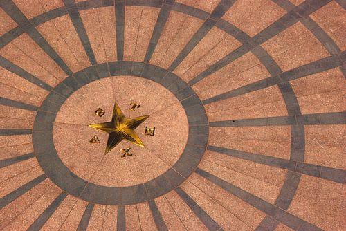 Lone star Texas Capitol Austin, TX, USA van Gerrie Tollenaar