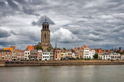 Stadsgezicht Deventer van Martin de Bock