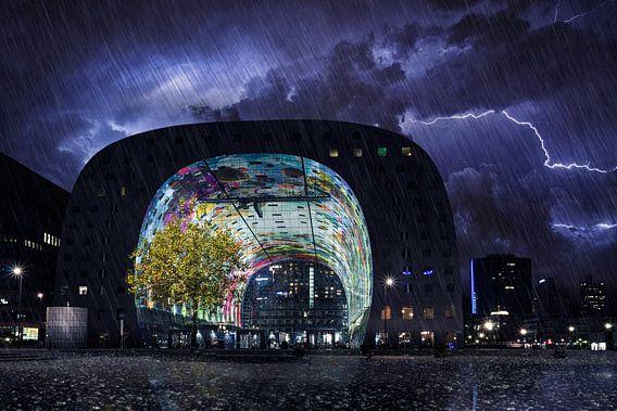 Storm in Rotterdam