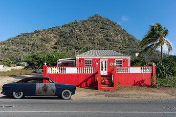 Aruba Heuhaufen und traditionelles arubanisches Haus von Humphry Jacobs