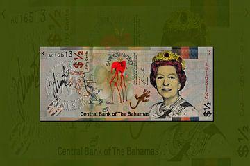 Banknote Bahamas JM0201 von Johannes Murat