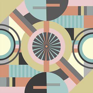 geometrische Formen und Farben von Thea Walstra