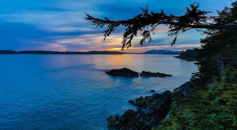 Sunset Canada Tofino sur Menno Schaefer