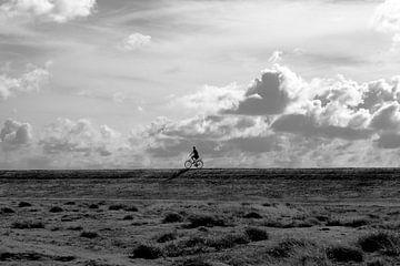 eenzame fietser von Elsa Datema