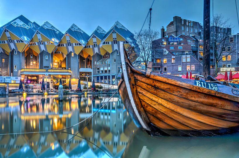 De Oude Haven en de Kubuswoningen van Frans Blok