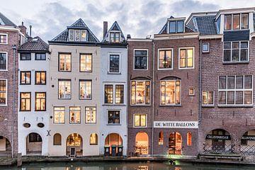Huizen langs de Oudegracht von De Utrechtse Internet Courant (DUIC)