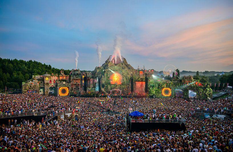 Tomorrowland 2013 - main stage by day van Joeri Swerts