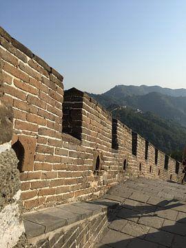 Chinese Muur Beijing von Puck vn