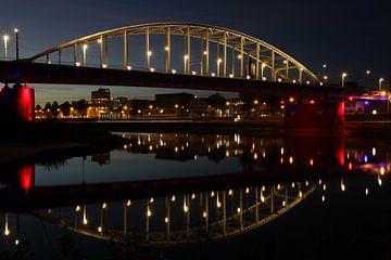 Pont John Frost en couleurs aéroportées sur Anne Ponsen