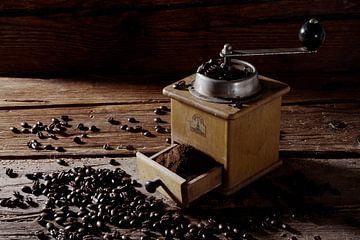 oude koffiemolen van Jürgen Wiesler