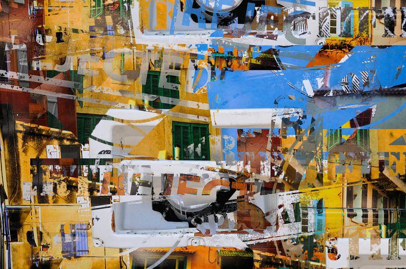 Urban Collages van Martine Affre Eisenlohr