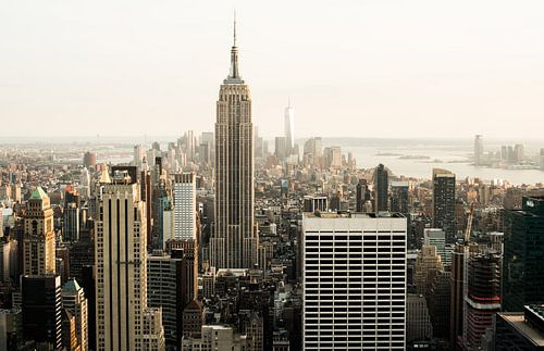 New York City Skyline III van