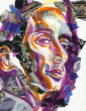 Kleurrijke geest van ART Eva Maria